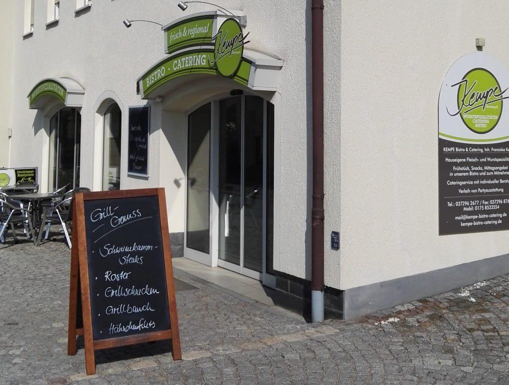 KEMPE Bistro und Catering Außenansicht