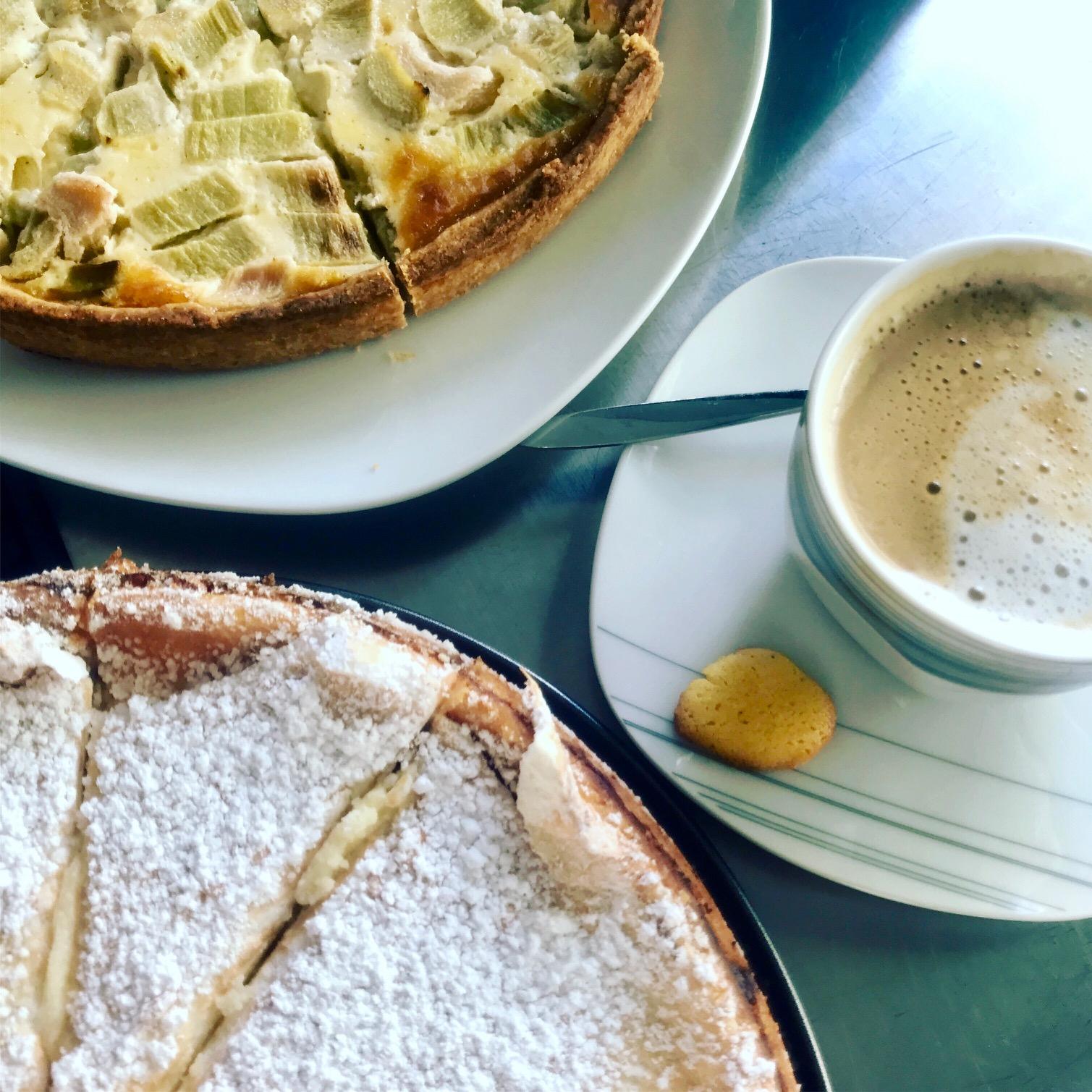 Walkbeach Kaffee und Kuchen