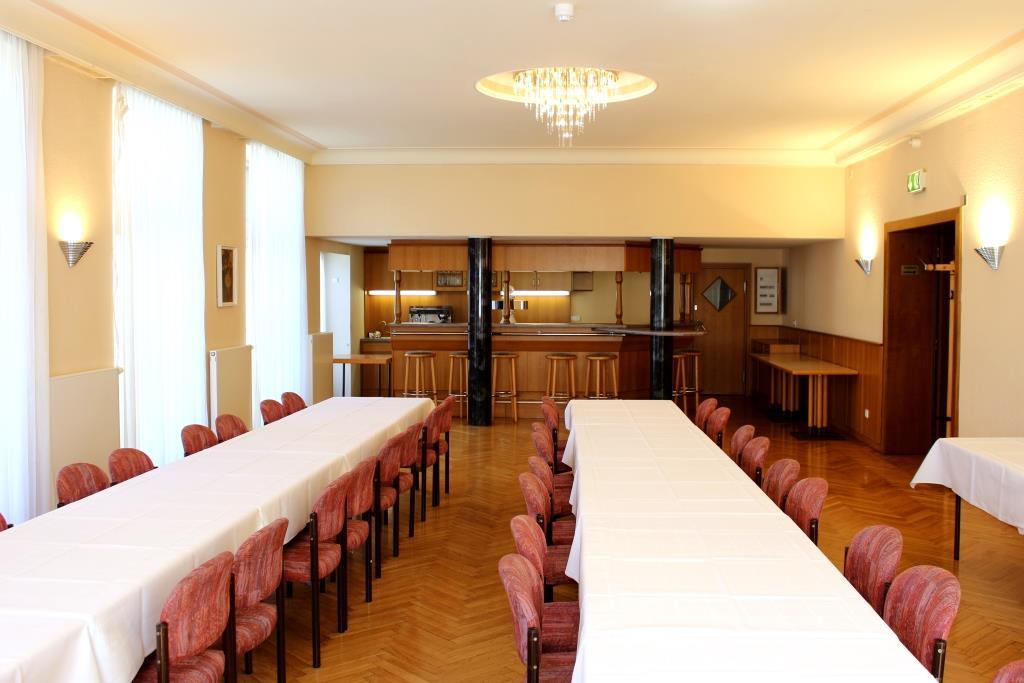 Café der Stadthalle Oelsnitz